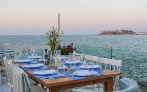 Cavo Rethymnon restaurant bar